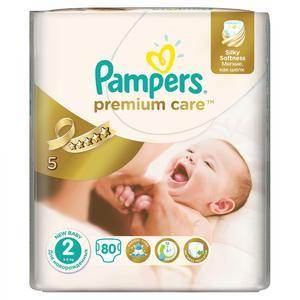Pampers Premium Care, Pieluszki 2 z jedwabistą powłoczką i chłonnymi kanalikami marki Pampers - zdjęcie nr 1 - Bangla