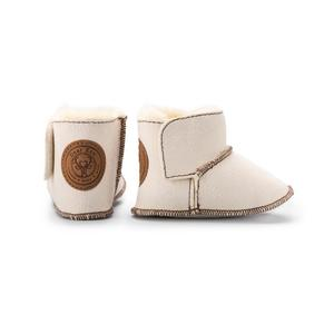 Dear Eco, Skórzane buciki dla niemowlaka marki 5 10 15 - zdjęcie nr 1 - Bangla