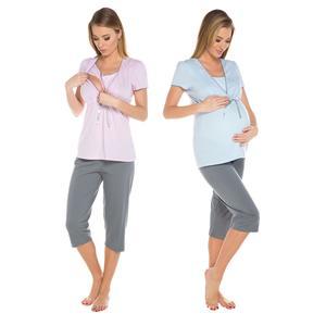 Italian Fashion, Piżama dla kobiet w ciąży oraz karmiących piersią Felicita marki Italian Fashion - zdjęcie nr 1 - Bangla