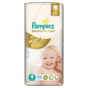 Pampers Premium Care, Pieluszki 4 z jedwabistą powłoczką i chłonnymi kanalikami marki Pampers - zdjęcie nr 1 - Bangla