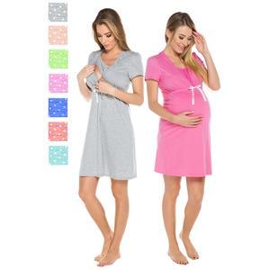 Italian Fashion, Koszula nocna Radość dla kobiet w ciąży i karmiących piersią marki Italian Fashion - zdjęcie nr 1 - Bangla
