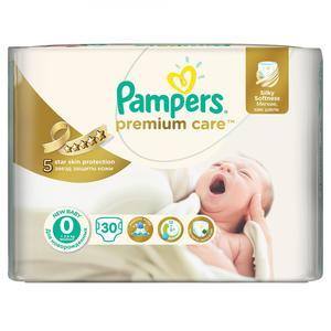Pampers Premium Care, Pieluszki 0 z jedwabistą powłoczką i chłonnymi kanalikami marki Pampers - zdjęcie nr 1 - Bangla