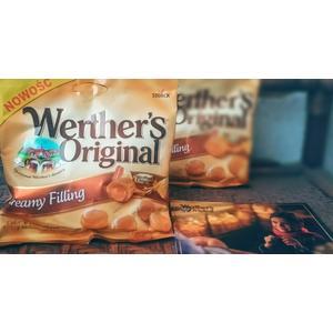 Werther's Original Creamy Filing, Cukierki śmietankowe z nadzieniem karmelowym marki Storck - zdjęcie nr 1 - Bangla