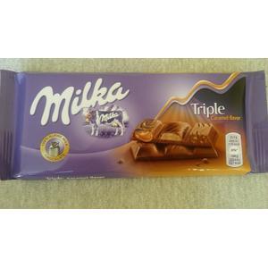 Triple Caramel Flavor, czekolada marki Milka - zdjęcie nr 1 - Bangla