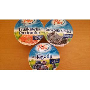 Pilos, jogurt z kawałkami owoców, różne rodzaje marki Lidl - zdjęcie nr 1 - Bangla