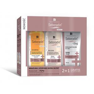 Seboradin Sensitive, szampon i balsamy do ciała, zestaw marki Inter Fragrances - zdjęcie nr 1 - Bangla