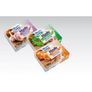 Mleczna Dolina, masło smakowe, różne rodzaje marki Biedronka - zdjęcie nr 1 - Bangla