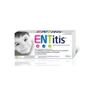 ENTitis, Pastylki do ssania (preparat probiotyczny) marki Sequoia - zdjęcie nr 1 - Bangla