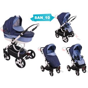 Sanremo, wózek dziecięcy wielofunkcyjny 2w1 lub 3w1 marki Lonex - zdjęcie nr 1 - Bangla