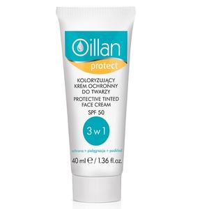 Oillan Protect, Koloryzujący krem ochronny do twarzy SPF 50 UVA/UVB marki Oceanic - zdjęcie nr 1 - Bangla