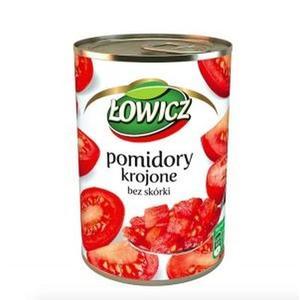 Łowicz Pomidory krojone bez skórki, puszka marki Maspex - zdjęcie nr 1 - Bangla