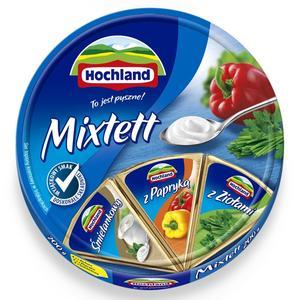 Hochland, Ser topiony Mixtett w krążku marki Hochland Polska Sp z o. o - zdjęcie nr 1 - Bangla