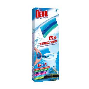 WC Trio zip 60g, Kostka w żelu/ WC żel marki Dr. Devil - zdjęcie nr 1 - Bangla