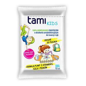 Tami Kids, Chusteczki nawilżane bawełniane antybakteryjne marki EcoWipes - zdjęcie nr 1 - Bangla