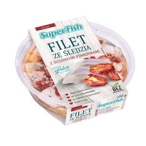 SuperFish, Filet ze śledzia z suszonymi pomidorami marki Graal - zdjęcie nr 1 - Bangla