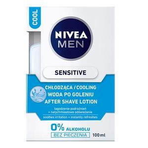 Men Sensitive Cool, Chłodząca woda po goleniu marki Nivea - zdjęcie nr 1 - Bangla