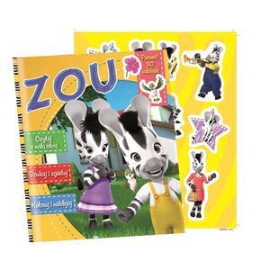 Zebra Zou Activity, Kolorowanki, naklejki marki Edipresse - zdjęcie nr 1 - Bangla
