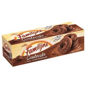 Familijne, Ciasteczka o smaku czekoladowym marki Jutrzenka - zdjęcie nr 1 - Bangla