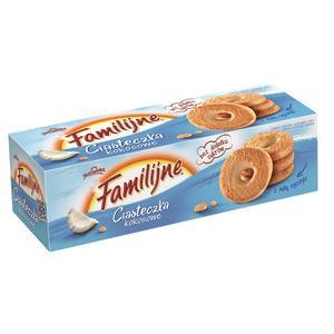 Familijne, Ciasteczka kokosowe marki Jutrzenka - zdjęcie nr 1 - Bangla