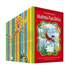 Kanon literatury dziecięcej, Lektury szkolne marki Edipresse Książki - zdjęcie nr 1 - Bangla