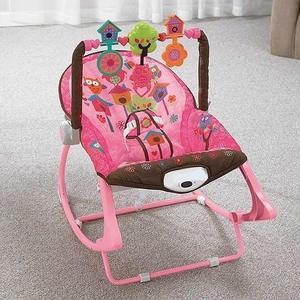 BabyOno, Leżaczek bujaczek fotelik 3w1 z wibracjami Sowy marki BabyOno - zdjęcie nr 1 - Bangla
