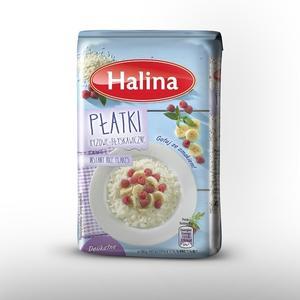 Halina, Płatki ryżowe błyskawiczne marki Sawex Sp z o.o.  - zdjęcie nr 1 - Bangla