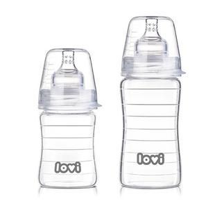 LOVI, Szklana butelka Lovi Diamond Glass marki Lovi - zdjęcie nr 1 - Bangla