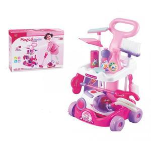 BabyOno, Zestaw sprzątaczki na wózku (odkurzacz na baterie) marki BabyOno - zdjęcie nr 1 - Bangla