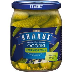 Ogórki, Korniszony marki Krakus - zdjęcie nr 1 - Bangla