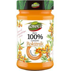 100% z owoców, Dżem Rokitnik (wspomaga układ pokarmowy) marki Łowicz - zdjęcie nr 1 - Bangla