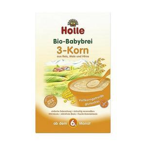 BIO, Pełnoziarnista kaszka dla niemowląt 3 Zboża marki Holle baby food GmbH - zdjęcie nr 1 - Bangla