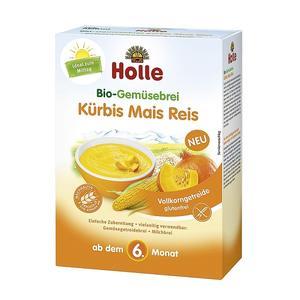 BIO, Ekologiczna kaszka warzywna z dynią, kukurydzą i ryżem marki Holle baby food GmbH - zdjęcie nr 1 - Bangla