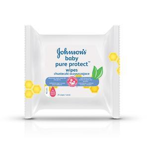 Johnson's Baby Pure Protect, Chusteczki oczyszczające marki Johnson & Johnson - zdjęcie nr 1 - Bangla