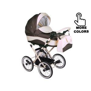 Lonex Carrozza, wózek dziecięcy na paskach wielofunkcyjny 2w1 lub 3w1 marki Lonex - zdjęcie nr 1 - Bangla