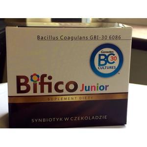 Bifico Junior, Probiotyk w czekoladzie marki BARS - zdjęcie nr 1 - Bangla