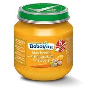 BoboVita, Marchewka z ziemniaczkami i cielęciną marki Nutricia - zdjęcie nr 1 - Bangla