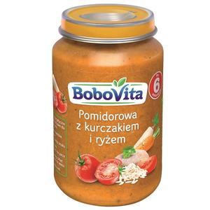 BoboVita, Pomidorowa z kurczakiem i ryżem po 6. miesiącu  marki Nutricia - zdjęcie nr 1 - Bangla