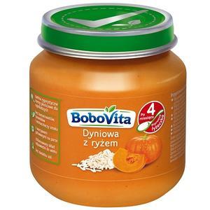 BoboVita, Dyniowa z ryżem po 4. miesiącu życia marki Nutricia - zdjęcie nr 1 - Bangla