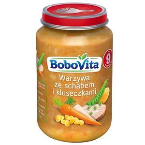 BoboVita, Warzywa ze schabem i kluseczkami po 9. miesiącu  marki Ziaja - zdjęcie nr 1 - Bangla