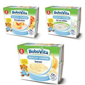 BoboVita, Mleczny deserek (różne smaki) marki Nutricia - zdjęcie nr 1 - Bangla