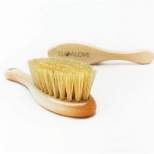 Lullalove, Szczotka z naturalnego włosia marki LULLALOVE - zdjęcie nr 1 - Bangla