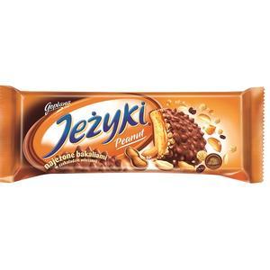 Jeżyki Peanut, Ciasteczka najeżone bakaliami w mlecznej czekoladzie marki Goplana - zdjęcie nr 1 - Bangla