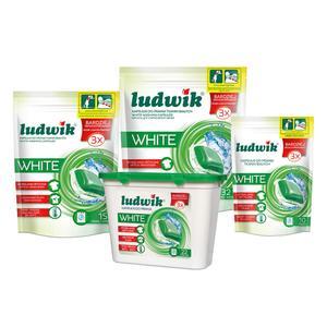 Kapsułki do prania tkanin białych Ludwik White, kapsułki do prania marki Ludwik - zdjęcie nr 1 - Bangla