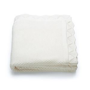 Stokke, Bawełniany kocyk (Classic White Blanket) marki Stokke - zdjęcie nr 1 - Bangla
