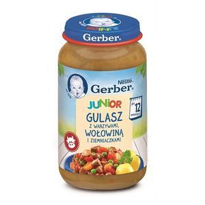Gerber Junior, Gulasz z warzywami, wołowiną i ziemniaczkami marki Dania gotowe Gerber - zdjęcie nr 1 - Bangla