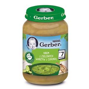 Gerber, Krem z zielonych warzyw z cukinią marki Kaszki Nestlé - zdjęcie nr 1 - Bangla