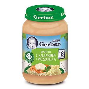 Gerber, Risotto z kalafiorem i mozzarellą marki Kaszki Nestlé - zdjęcie nr 1 - Bangla