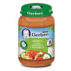 Gerber, Spaghetti w sosie pomidorowym z mozzarellą marki Kaszki Nestlé - zdjęcie nr 1 - Bangla