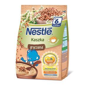 Kaszka gryczna, dla niemowląt po 6. miesiącu życia marki Kaszki Nestlé - zdjęcie nr 1 - Bangla