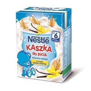 Kaszka do picia mleczno-ryżowa o smaku waniliowym, dla dzieci po 6. miesiącu życia marki Kaszki Nestlé - zdjęcie nr 1 - Bangla